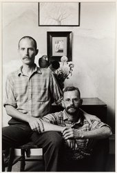 Sunil Gupta  Ian and Julian, from the series Ten Years On 1986, printed 2010 Tate