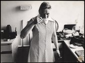 First of a series of nine photographs in Tate Archive from the Hackney Flashers project, A Day in the Life, c1974