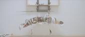 Still from Helen Marten TateShots video showing one of he sculptures