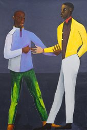 Lubaina Himid Stir Until Melted (The Fortune Teller) 2020