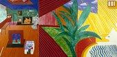 David Hockney Hollywood Hills House 1981–82