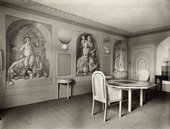 Interior design for 'Penns-in-the-Rocks' by Vanessa Bell and Duncan Grant © Tate Archive