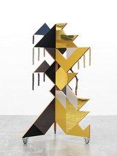 Haegue Yang Reflected Metallic Cubist Dancing Mask 2020