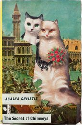 Joe Orton and Kenneth Halliwell The Secret Chimneys by Agatha Christie Islington Local History Centre