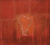 Frank Bowling South America Squared 1967