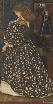 Sir Edward Coley Burne-Jones Sidonia von Bork 1560 1860 Tate Bequeathed by W. Graham Robertson 1948