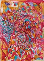 Fahrelnissa Zeid Untitled (Brighton 9 June 1949) 1950