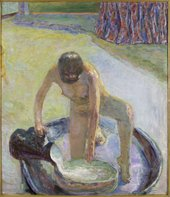 Pierre Bonnard Nude Crouching in the Tub 1918 Musée d'Orsay (Paris, France)
