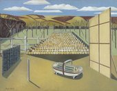 Paul Nash Landscape at Iden 1929, Oil Paint on Canvas, collection & © Tate