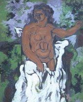 Georges Braque, Bather1925 Tate. Georges Braque © ADAGP, Paris and DACS, London 2018