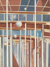 Paul Nash, Voyages of the Moon, 1934-7, Oil paint on canvas, collection & © Tate