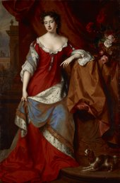Willem Wissing Queen Anne, when Princess of Denmark c.1685 National Galleries of Scotland