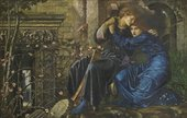 Sir Edward Coley Burne-Jones Love among the Ruins 1870-1873 Private Collection