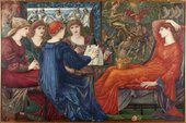 Sir Edward Coley Burne-Jones Laus Veneris 1873-1878 Laing Art Gallery, Newcastle upon Tyne
