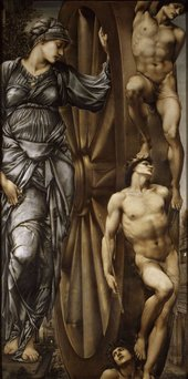 Sir Edward Coley Burne-Jones The Wheel of Fortune 1883 Musée d'Orsay, Paris