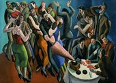 William Roberts The Jazz Club (The Dance Party) 1927