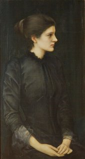 Edward Coley Burne-Jones, Bt. Portait of Amy Gaskell, 1893