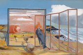 Paul Nash, Landscape for a Dream, 1936-8, Oil paint on canvas collection & © Tate
