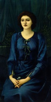 Edward Coley Burne-Jones, Bt. Portait of Madame Deslandes, 1895-6