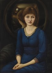 Edward Coley Burne-Jones, Bt. Portait of Margaret Burne-Jones, 1885-6