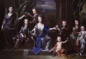 John Closterman The Children of John Taylor of Bifrons Park 1696 National Portrait Gallery, London​​