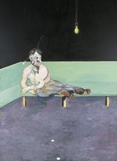 Francis Bacon,Study for Portrait of Lucian Freud 1964