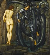 Sir Edward Coley Burne-Jones The Doom Fulfilled 1888