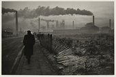Don McCullin, Early shift, West Hartlepool steelworks, County Durham 1963 © Don McCullin