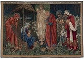 Sir Edward Coley Burne-Jones, Bt. & William Morris The Adoration of Magi 1894