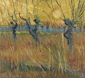 Vincent van GoghPollarded Willows1888Kröller-Müller Museum (Otterlo, The Netherlands)