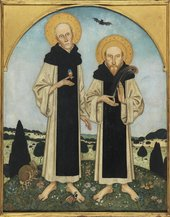 Edmund Dulac 1822–1953 Charles Ricketts and Charles Shannon as Medieval Saints 1920