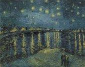 Vincent van GoghStarry Night over the Rhone1888 Musée d'Orsay (Paris, France)