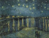 Vincent van Gogh Starry Night over the Rhone 1888 Musée d'Orsay, Paris, France