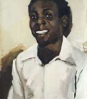 Lynette Yiadom-Boakye Elephant 2014 Private Collection  © Lynette Yiadom-Boakye