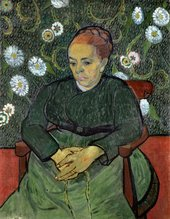 Vincent van GoghAugustine Rouline (La berceuse)1889 Stedelijk Museum (Amsterdam, The Netherlands)