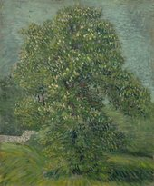 Vincent van Gogh HorseChestnut Tree in Blossom1887 The Van Gogh Museum (Amsterdam, The Netherlands)