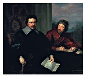 Anthony van Dyck Thomas Wentworth First Earl of Strafford with Sir Philip Mainwaring 1639
