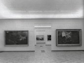 The Turner displays at the Tate Gallery 1967