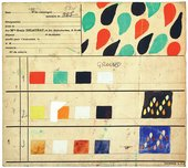 Sonia Delaunay, Design 965, created for Metz & Co, 1930