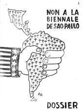 'Non a la Biennale de São Paulo Dossier' 1969, Julio Le Parc Archive