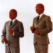 Gilbert & George, The Red Sculpture 1975