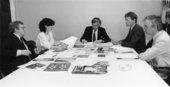 The jury for the 1984 Turner Prize