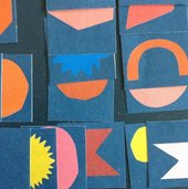 Tate Shapes by Hannah Coulson, artist-in-residence at Tate St Ives, 2015