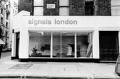 The exterior of Signals at 39 Wigmore Street, London, 1966