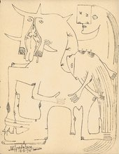 Image of Wifredo Lam's Marseille Notebooks Carnets de Marseille 1941