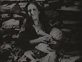 Luis Buñuel Land Without Bread 1933 (film still) mother and child