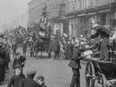 Sagar Mitchell and James Kenyon Bootle May Day Demonstration and Crowning of the May Queen 1903 (film still)
