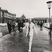 Günter Brus Vienna Walk 1965