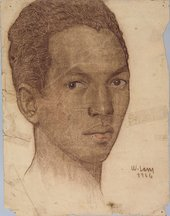 Image of Wifredo Lam's Self-Portrait from 1926