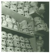 Kati Horna, Sugar Skulls, Series Sweets Market, Mexico, 1963